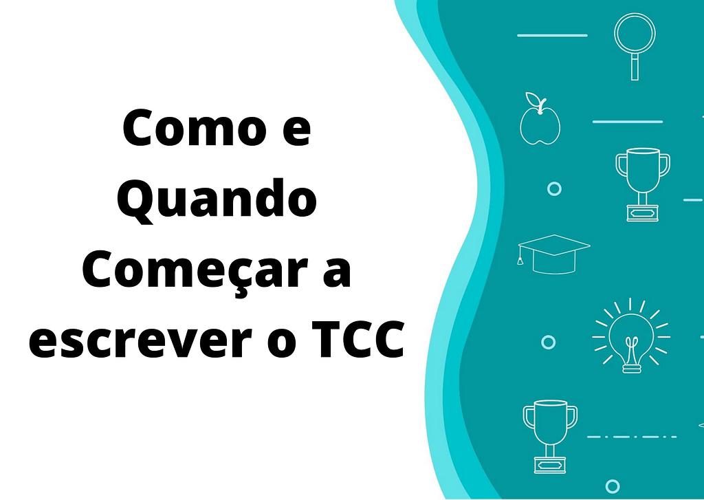 como escrever o tcc